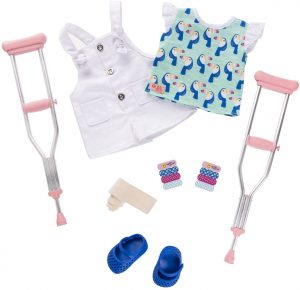 OUR GENERATION - BOOBOO KISSES ACCESSORIES SET