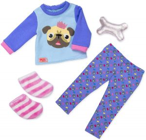 OUR GENERATION - PUG-JAMA PARTY ACCESSORIES SET