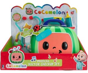 Cocomelon Musical Doctor Checkup Set