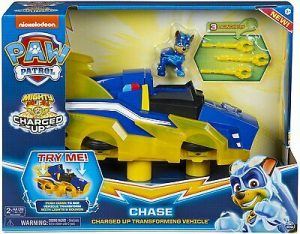 MIGHTY PUPS CHARGED UP CHASE'S DELUXE VEHICLE