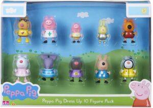 P/PIG DRESS UP 10 FIG PK