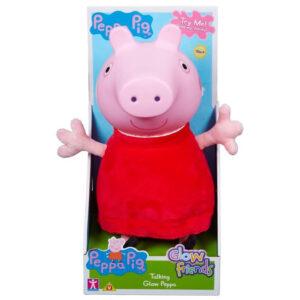 PEPPA PIG GLOW FRIENDS TALKING GLOW PEPPA PIG FIGURE