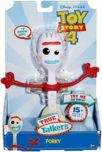 """TOY STORY 4 7"""" TALKING FORKY"""