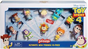 TOY STORY 4 MINIFIGURE 10 PACK