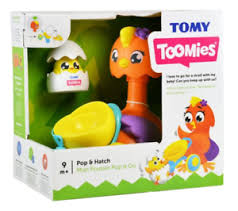 TOMY Toomies Pop and Hatch Push Along Toy