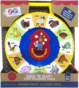 Fisher-Price Classics See 'n Say Farmer Says Toy