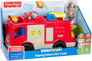Fisher-Price Helping Others Fire Truck Toy
