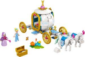 LEGO DISNEY PRINCESS 43192 CINDERELLA'S ROYAL CARRIAGE