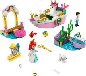 LEGO DISNEY PRINCESS 43191 ARIEL'S CELEBRATION BOAT