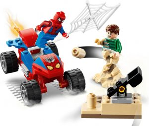 LEGO MARVEL SUPER HEROES 76172 SPIDER-MAN AND SANDMAN SHOWDOWN