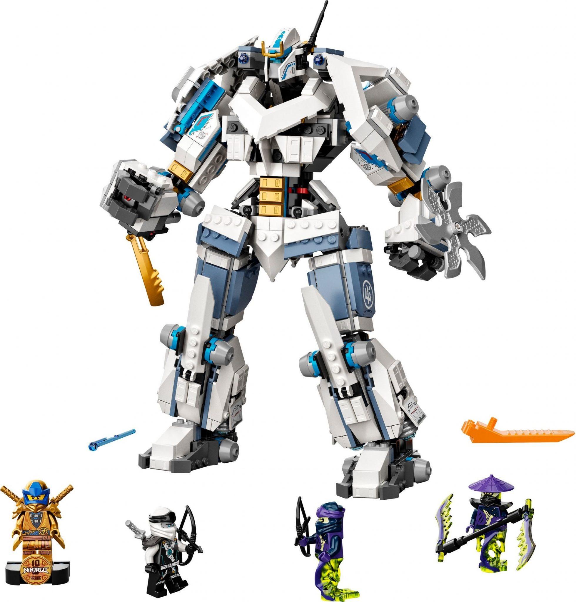LEGO NINJAGO 71738 ZANE'S TITAN MECH BATTLE • Thomas Moore
