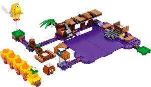 LEGO SUPER MARIO 71383 WIGGLER?S POISON SWAMP EXPANSION SET