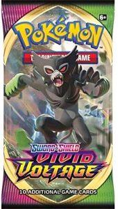 Pokèmon 175-80749 Pokemon-Sword & Shield 4 Vivid Voltage-Booster Pack