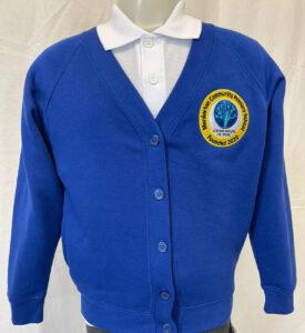 Monkerton Primary School Sweatshirt Cardigan