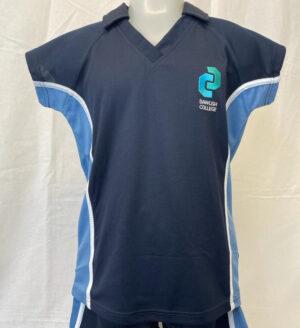 Dawlish College Girls Sports Polo Shirt
