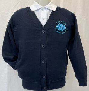 Colyton Primary Academy Embroidered Sweatshirt Cardigan