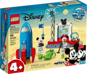 LEGO 10774 MICKEY MOUSE & MINNIE MOUSE'S SPACE ROCK
