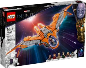 LEGO 76193 THE GUARDIANS' SHIP