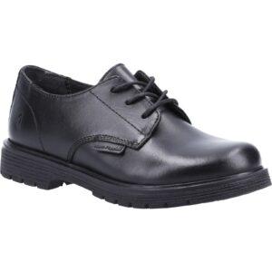 Hush Puppies Remi Boys Shoe BLACK/7 (L)