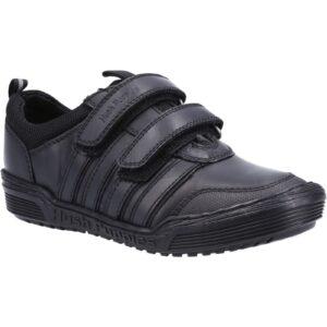 Hush Puppies Jake velcro boys school shoe
